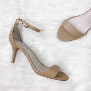 Steve Madden Tan Nude Pumps Sillly Heels Shoes